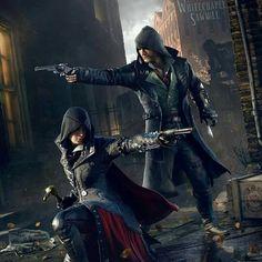 Evie and Jacob Frye #AssassinsCreed