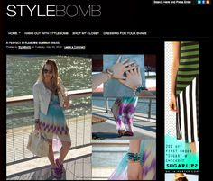 Style Bomb wears Gypsies and Debutantes