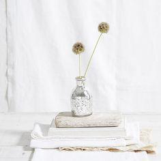 Mercury Bud Vase | The White Company