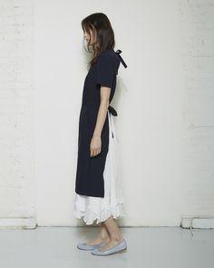 Comme des Garçons Comme des Garçons / Apron Dress, Comme des Garçons Comme des Garçons / Long Silk Slip Dress