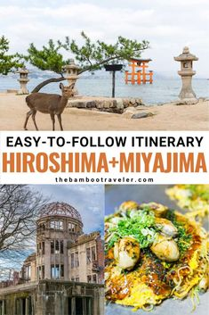 The Ultimate Day Trip to Hiroshima and Miyajima | Japan travel | Japan travel destinations | Japan travel tips | where to go in Japan | best places to visit in Japan | Japanese history | Japanese culture | history of Japan | Peace | Japanese food | what to eat in Japan | what to eat in Hiroshima | Japan must-try food | must-visit places in Japan | Japan photography | World War II | deer | famous places in Japan #Japan #traveltips #Japanesehistory Tokyo Japan Travel, Japan Travel Guide, Asia Travel, Japan Japan, Kyoto Japan, Okinawa Japan, Best Vacation Destinations, Best Vacation Spots, Best Places To Travel