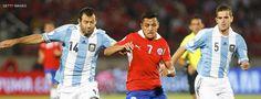 Chile y Argentina buscan alzar la Copa América