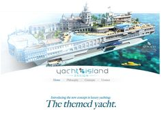 Themed Yacht... not cruise, personal YACHT!