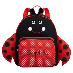 Little Critter Backpack - Ladybug