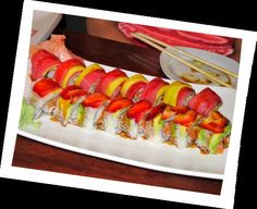 sushi time * right here is the greatest sushi spot...Sushi #gourmet #sushi