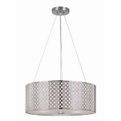 Would love a chrome drum shade lamp for the bedroom.