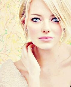 Emma Stone - love her with this color and love with her with red