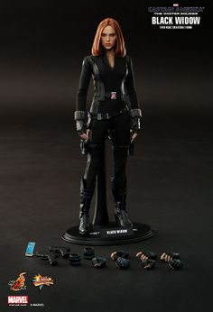 Hot Toys' New Black Widow Figure Looks Insanely Realistic