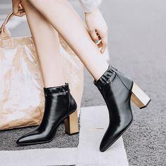 Chiko Dawna Chunky Heel Ankle Boots 5f0c9973174e