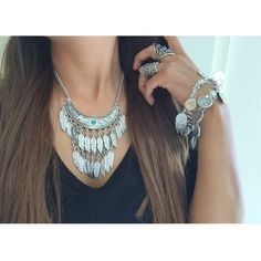 Feather turquoise stone necklace + earring New with tags! Beautiful silver feather necklace, with adjustable length chain and lobster closure, can wear close to the neck or lower depending on preference.                                           Material : Alloy Fashion Jewelry Jewelry Necklaces