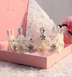 40% OFF Wedding tiaras bride qureen crown delicate by ForLayla