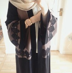 Image of Sienna Open Abaya Pre-Order