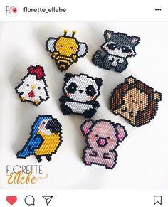 Brick stitch animals