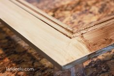 An easy way to build a large frame with moulding! Super easy and customizable to your needs. Way cheaper than buying a frame this size! Frames For Canvas Paintings, Canvas Frame, Door Steps, Large Frames, Diy Canvas Art, Large Canvas, Butcher Block Cutting Board, Mantle, Wood Art