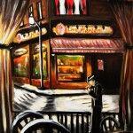 Chez Marier, Acrylique, 14''X 18'', 2011, 200$