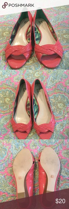 Anne Klein Shoes Size 10M, Leather upper, like new, no original box Anne Klein Shoes