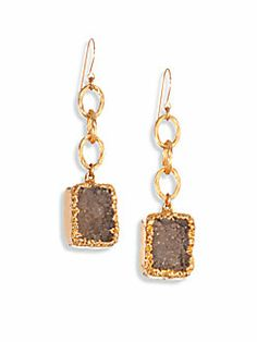 Nest Pyrite Stardust Chandelier Earrings pKcT4XRg