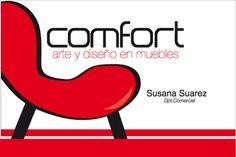 """Diseño de tarjetas """"comfort"""" by alberto vega diseño gráfico & web, via Flickr"""