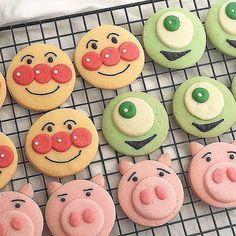 Instagram 上的 SUCLE(シュクレ)🍭:「 土日にクッキー作り🍪  #キャラクッキー  アンパンマン、マイク、ハムみんなかわいい〜♡ 輪郭が丸いからできるクッキー👀 お友達に配っても喜ばれそうですね🙌 .  sucleでは紹介する写真募集中📷✨⠀  #sucle をつける か… 」