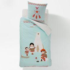Compre Capa de edredon para criança INUIT, estampada, em algodão. Roupa de cama criança na La Redoute. O melhor da moda online.