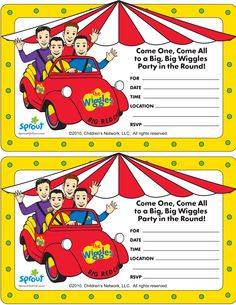 9 Best The Wiggles Birthday Party Images The Wiggles Wiggles