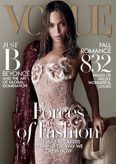 Huh? White Writer Says Beyonce's Vogue Cover is a Political Statement on Stringy, Un-Done, Unkempt Hair...YASSS!