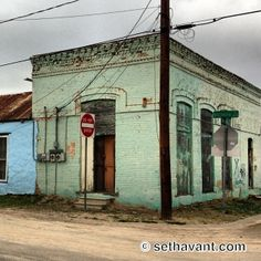 Abandoned store in Laredo, Texas.