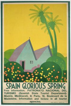 Original Title: Spain Glorious Spring Designer: S. L. Tolosa Year of Poster: 1930s