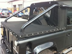 land rover defender 110 soft top conversion