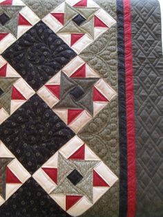 Change the colors a bit to be a red white and blue quilt...I like