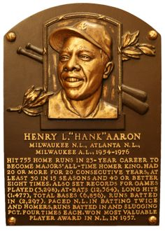 Today in 1974, Hank Aaron ties Babe Ruth's home-run record by hitting his 714th.