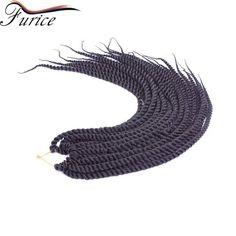 12 14 16 18 22 24 Inch Crochet Hair Havana Twist Crochet Braids  Extension…