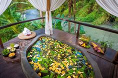 The Fivelements retreat in Bali is the perfect blend of picturesque modern luxury and traditional Balinese healing practices.