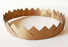 paper crown; so pretty and easy to make (from David Morgan on the Etsy blog)