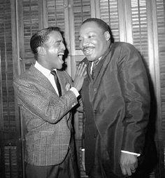 Classic Photo: Sammy Davis, Jr. and Martin Luther King, Jr.