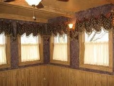 Rustic Curtains and Valances - Bing Images Rustic Curtains, Window Curtains, Hanging Curtain Rods, Short Curtains, Valances, Window Treatments, Rustic Decor, Windows, Bing Images