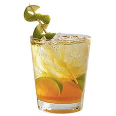 Texas A Howdy Muddle 3 lime wedges and 2 Tbsp. turbinado sugar in a glass. Fill glass with crushed ice, and top with seltzer water or club soda. Garnish with a lime rind strip. Beach Drinks, Fun Drinks, Alcoholic Drinks, Drink Cart, Beverage Cart, Sports Food, Cocktail Drinks, Cocktails, Martinis