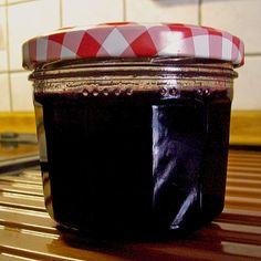 Süße Traubenmarmelade