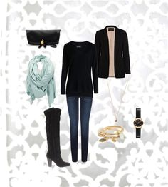 """Thursday work & lunch"" by sarahkivlehan ❤ liked on Polyvore"