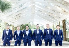 A breathtaking bride and her bridesmaids in perfect Pantone Serenity blue. Modern Blue Suit, Blue Suits, Groom And Groomsmen Suits, Chic Wedding, White Light, Studios, Essentials, Bridesmaid, Photography
