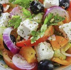 Recette: salade à la Grec