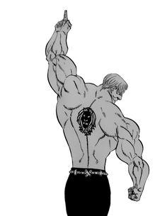 Nanatsu no Taizai manga 185 | Escanor.