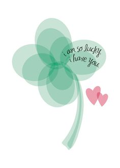 """""""Lucky Clover"""" - Wedding Art Print by Christy in beautiful frame options and a variety of sizes."""