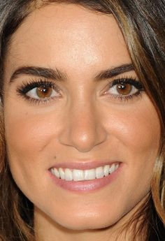 Close-up of Nikki Reed at the 2014 Variety Power of Women event. http://beautyeditor.ca/2014/10/13/variety-power-of-women-2014