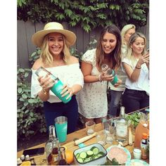 Hilary Duff Duff celebrated Memorial Day with a birthday cocktail-making party.