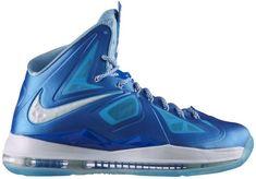top fashion c8640 da973 Nike LeBron X+ Blue Diamond Shoes Photo, Nike Store, Shoe Gallery, Lebron  James