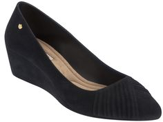 ce00e8e8a9 Sapato Feminino Grendha Special Scarpin AD - 16564 Preto Flocado