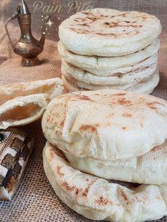 Pita Recipes, Baking Recipes, Pita Kebab, Recipe Images, Street Food, Tapas, Good Food, Brunch, Food And Drink