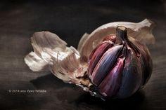 Ajo, luz y textura · Garlic, light and texture #fotografia #photography #flickr #cocina #kitchen
