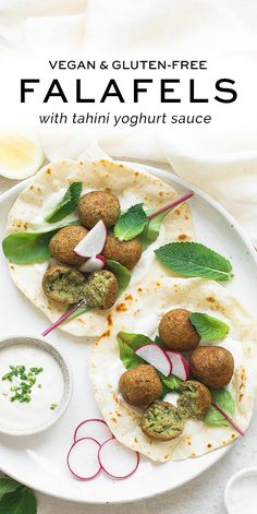 Easy falafel recipe with step-by-step photos served with Tahini Yoghurt Sauce Easy falafel recipe with step-by-step photos served with Tahini Yoghurt Sauce Falafels, Vegetarian Recipes, Cooking Recipes, Healthy Recipes, Chickpea Recipes, Easy Cooking, Free Recipes, Easy Recipes, Easy Weeknight Meals